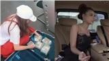Có gì bên trong ô tô gần 3 tỷ được hot girl Sam mang cả vali tiền đi mua?