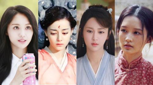 Dương Tử, Địch Lệ Nhiệt Ba, Trịnh Sảng và Lý Thấm được xếp vào 'tứ tiểu hoa hậu 90' của phim truyền hình