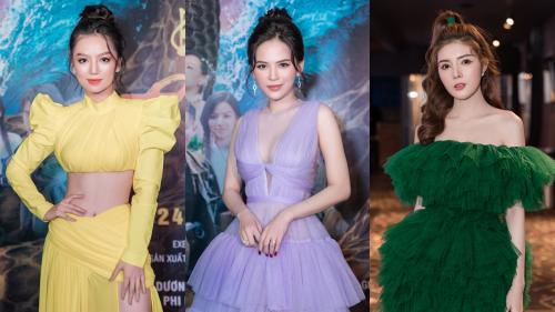Dàn hot girl Hạ Anh, Lily Luta, Phi Huyền Trang đọ sắc trên thảm đỏ