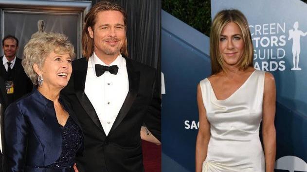 Mẹ Brad Pitt muốn con trai nhanh chóng làm lễ cưới với Jennifer Aniston một lần nữa?