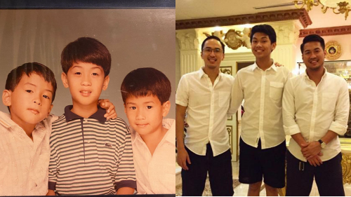 Hình ảnh hiếm hoi thời bé của anh em Louis Nguyễn - Phillip Nguyễn được công bố khiến dân tình trầm trồ vẻ 'soái ca' từ nhỏ