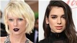 Chuyện gì thế này: Dua Lipa đã rủ rê Taylor Swift vào phòng thu chung từ khi nào?