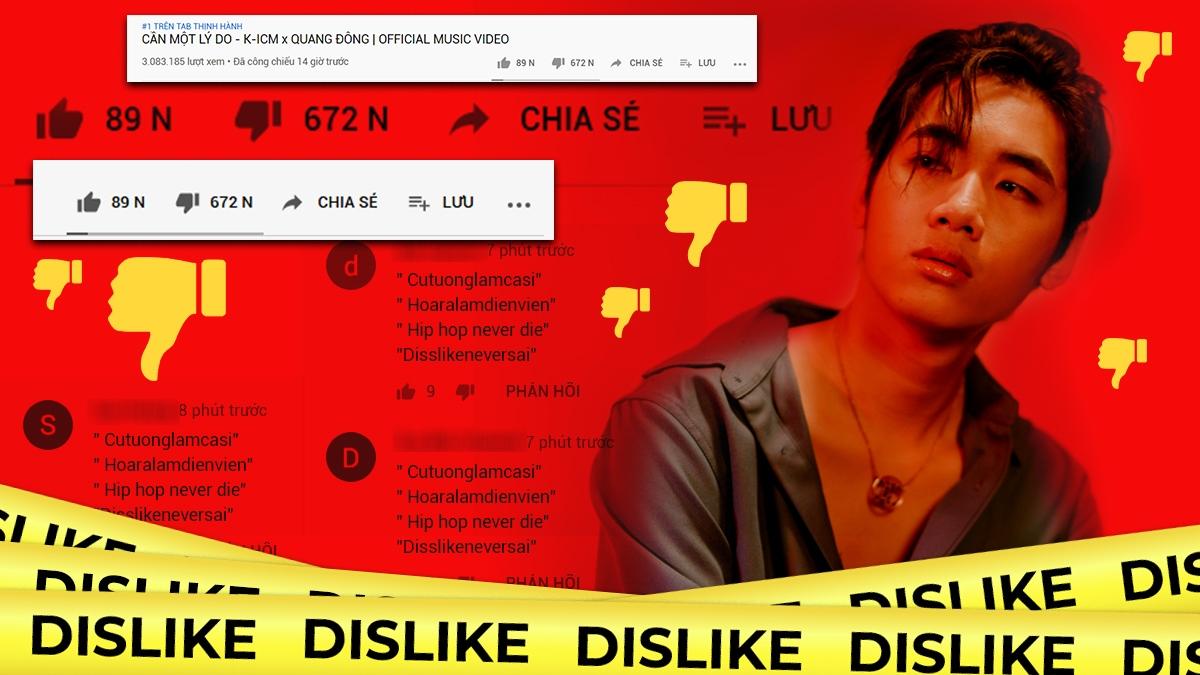 MV 'Cần một lý do' bị dislike gấp 10 lần like, K-ICM sẽ bị ảnh hưởng như thế nào?