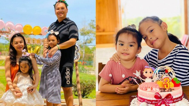 Phạm Quỳnh Anh và Quang Huy gây chú ý khi lại tái ngộ trong dịp sinh nhật con gái út: Ly hôn nhưng vẫn mãi là gia đình!