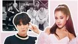 Suga lần đầu tiết lộ lý do vắng mặt trong bức ảnh BTS chụp cùng 'tiểu diva' Ariana Grande