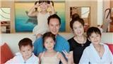 Sau giãn cách xã hội, gia đình Lý Hải - Minh Hà cùng đi nghỉ dưỡng tại biển