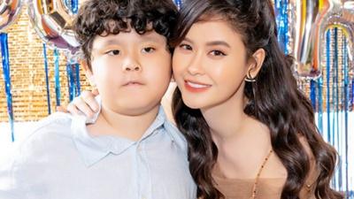 Trương Quỳnh Anh tổ chức sinh nhật mừng con trai Sushi lên 8 tuổi