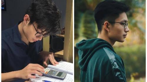 Bị chụp lén khi học bài, nam sinh nổi rần rần vì ôm trọn combo đẹp, giỏi và cool ngầu