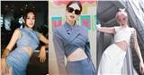 Hoa hậu Tiểu Vy, Tóc Tiên, Jennie Black Pink diện áo croptop vạt chéo ngực sành điệu