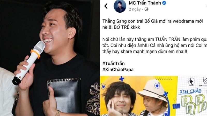 Trấn Thành, Hari Won cùng dàn sao Việt nói gì về web drama của Tuấn Trần?