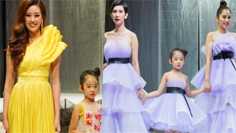 Khai Mạc VJFW 2020: Hoa hậu Khánh Vân, Nam Anh, Xuân Lan cùng con gái catwalk ấn tượng