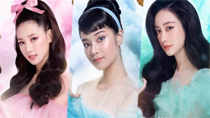 Jun Vũ, Hoàng Yến Chibi, Midu, Amee hóa công chúa lộng lẫy trong poster The Princess
