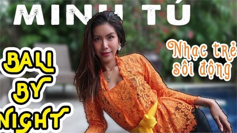 Được về Việt Nam, Minh Tú khiến fan 'cạn lời' khi tung ra liên khúc 'nhạc trẻ sôi động' tại bể bơi