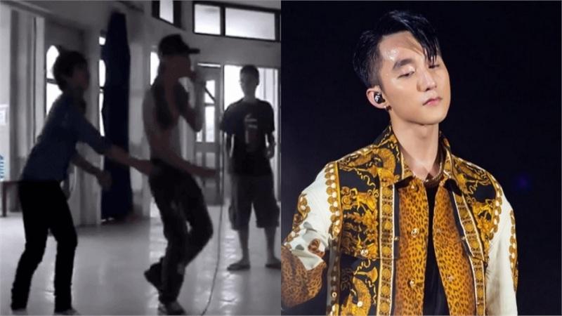 Clip tập nhạc từ năm cấp 3 của Sơn Tùng M-TP bỗng hot trở lại, đáng chú ý là hành động 'nhường spotlight' khiến ai nấy xuýt xoa