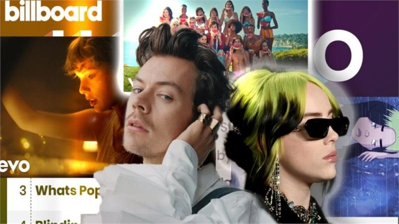Kết quả BXH Billboard tuần này: Harry Styles xác lập bước đột phá trong sự nghiệp, Billie Eilish quay trở lại Top10 với ca khúc mới