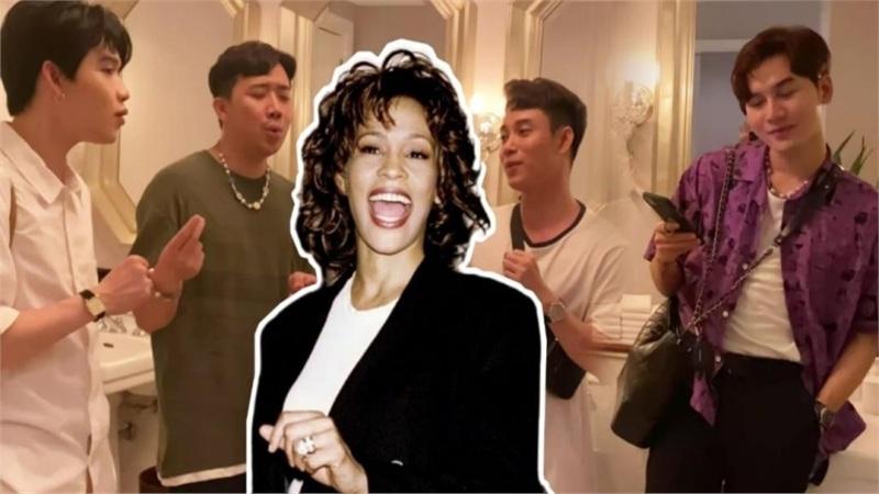 Tức cảnh sinh tình, Cờ cá ngựa ngẫu hứng tái hiện bản hit kinh điển của danh ca Whitney Houston ngay trong... WC