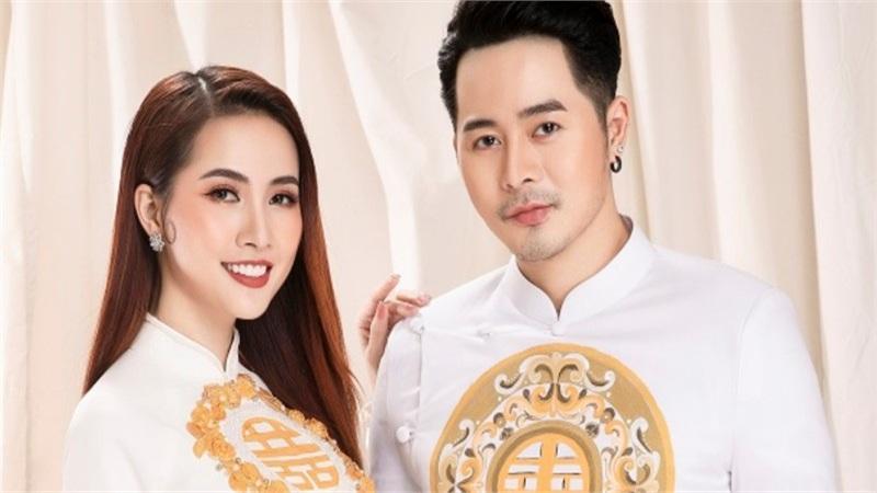 Hoa hậu Phan Thị Mơ tình tứ bên mẫu nam điển trai Dương Mạc Anh Quân