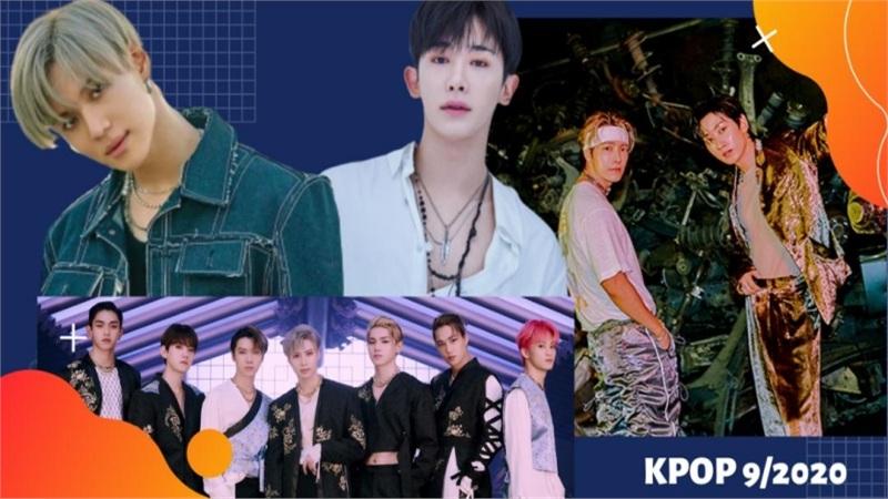 Cập nhật đường đua Kpop tháng 9/2020: Nhà SM đổ bộ, Wonho 'chào sân' solo hậu rời Monsta X