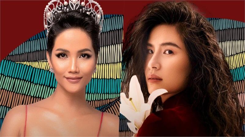 H'Hen Niê làm giám khảo giúp Hoa hậu Khánh Vân chọn lựa trang phục dân tộc thi Miss Universe 2020