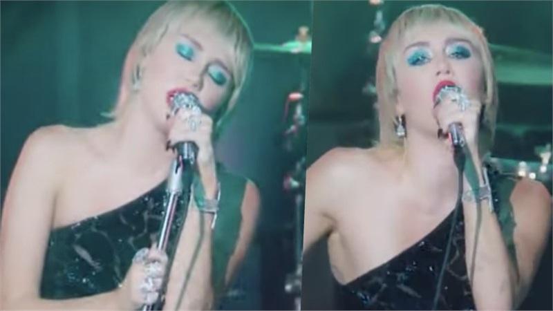 Choáng ngợp trước vẻ đẹp gợi cảm ở Miley Cyrus trong thiết kế cut-out táo bạo của Công Trí