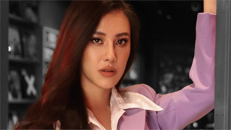 Á hậu Kim Duyên diện vest, khoe thần thái ma mị trong bộ ảnh mới
