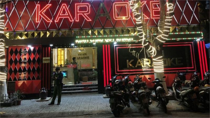 TP HCM: 33 người phê ma tuý trong quán karaoke lúc rạng sáng