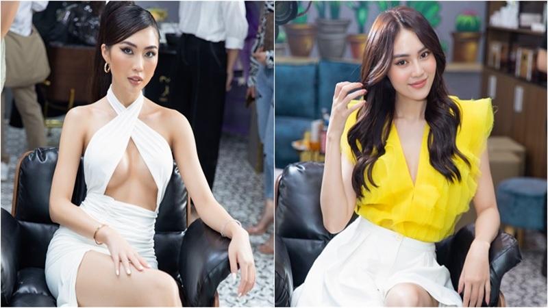 Tường Linh diện váy cắt xẻ táo bạo đọ dáng cùng Lan Ngọc,Văn Mai Hương