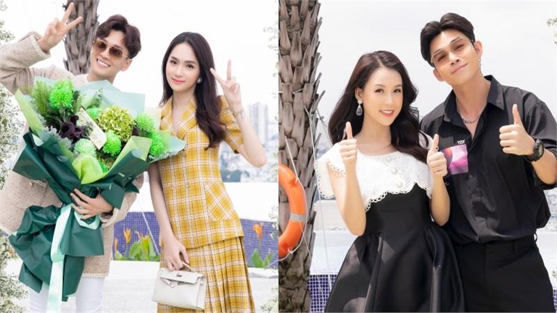 Hoa hậu Hương Giang và dàn sao đình đám đến chúc mừng Ngô Kiến Huy