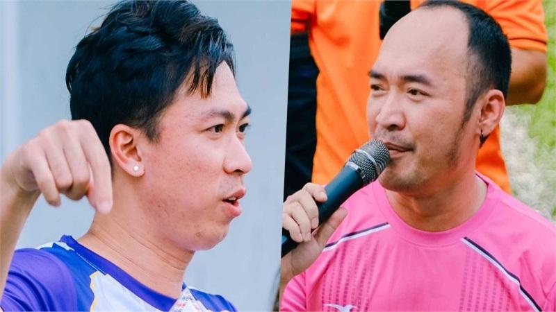 Tiến Luật, Hồ Việt Trung, Titi (HKT) cùng dàn sao đá bóng quyên góp được 550 triệu đồng ủng hộ Miền Trung