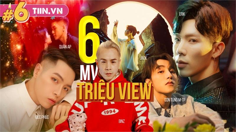 6 MV 'triệu view' khuấy đảo Vpop: Sơn Tùng M-TP 'chắc suất', Jack vừa tái xuất đã 'gây bão'