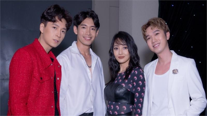 Quang Đăng hội ngộ Ngô Kiến Huy, Bảo Anh,biểu diễn Bigcityboi cực 'cháy'