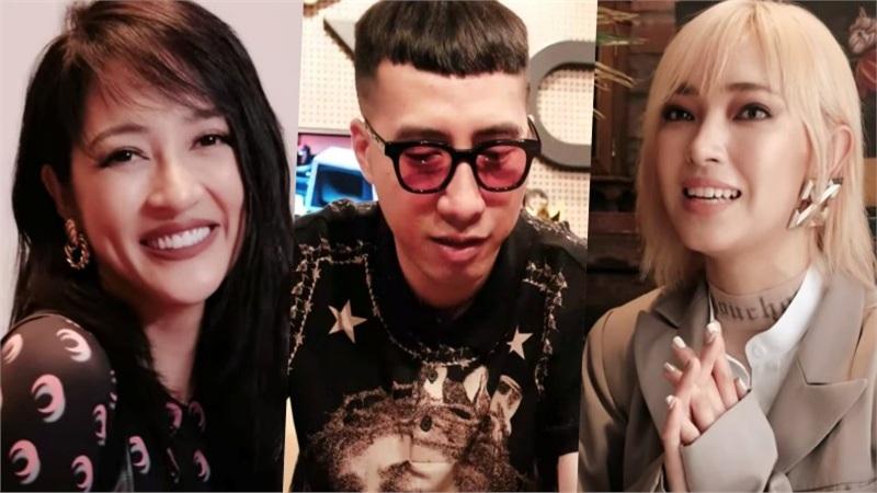 Bảo Anh, Châu Bùi, Only C, Lou Hoàng 'hết hồn' với pha hành động của Thiều Bảo Trâm trong MV