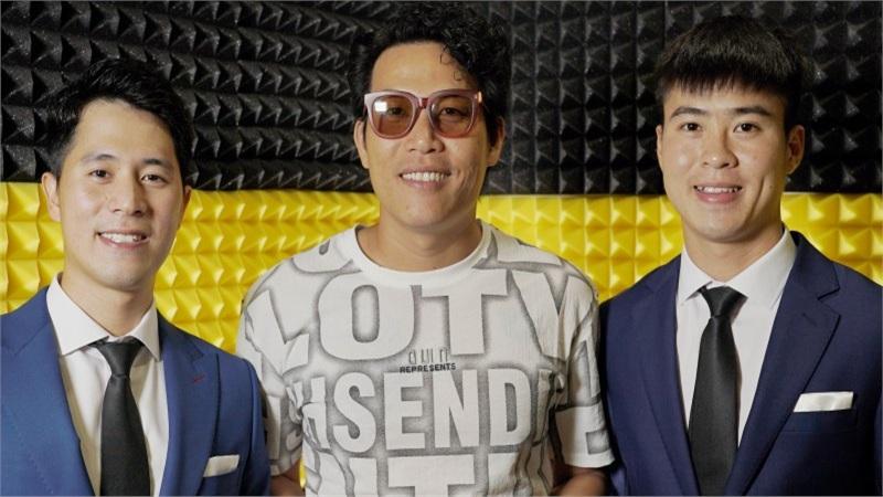 Quang Hải, Duy Mạnh cùng dàn cầu thủ khoe giọng hát trong MV của ca sĩ 'Gánh mẹ'