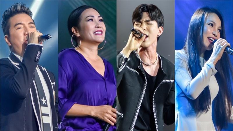 Phương Thanh, Mr Đàm,Erik và dàn sao 'cháy' hết mình,đóng góp hơn 6 tỷ đồng cho miền Trung