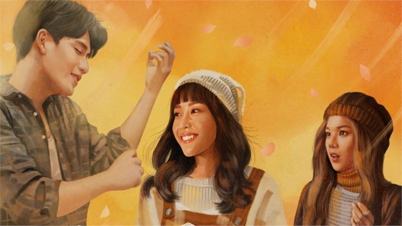 Khả Ngân, Quốc Anh, Hoàng Yến Chibi đẹp lung linh trong poster mới của phim 'Bí mật của gió'
