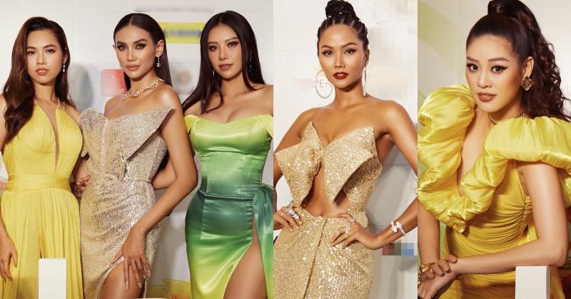 H'Hen Niê, Khánh Vân, Võ Hoàng Yến và dàn Hoa hậu, Á hậu đọ dáng rực rỡ tại sự kiện