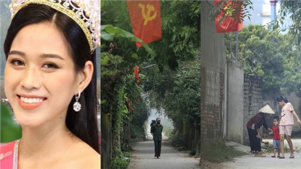 Khung cảnh tại quê hương Đỗ Thị Hà trong những ngày chờ đón Tân Hoa hậu về làng