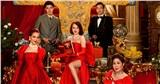 NSND Lê Khanh, NSND Hồng Vân và Kaity Nguyễn rực rỡ trên poster phim Tết Gái già lắm chiêu V