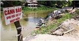 Công bố tình trạng khẩn cấp sạt lở bờ sông Đáy, sông Bùi tại Hà Nội