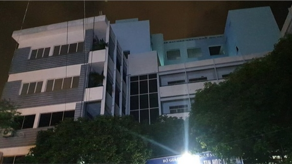 Nam thanh niên rơi từ tầng cao Đại học Ngoại ngữ - Tin học tử vong