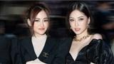 Diễn viên Thùy Anh đọ sắc cùng Á hậu Phương Nga khi xem show thời trang