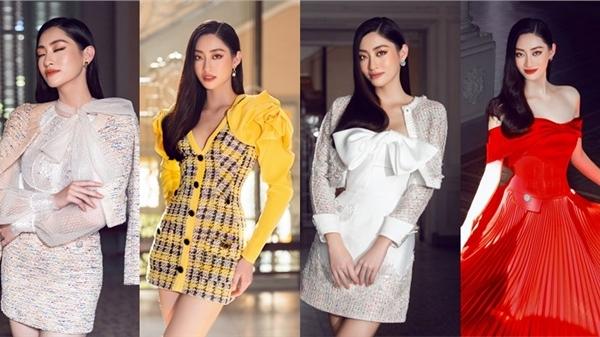 Phong cách sang trọng, tinh tế của Hoa hậu Lương Thuỳ Linh