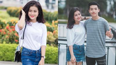 Hotgirl cover Kiều Phạm ngày càng xinh đẹp, hạnh phúc bên bạn trai kiện tướng dancesport