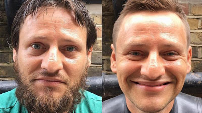 Gặp gỡ người đàn ông Anh khởi xướng sáng kiến cắt tóc miễn phí cho người vô gia cư