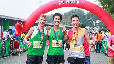Runners tham gia LDR Half Marathon 2018: 'Chạy bộ để thông minh hơn'