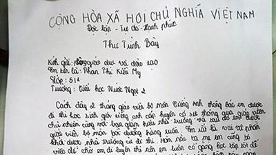 Nữ sinh viết tâm thư khi bất ngờ bị gạt khỏi danh sách thi Olympic trong phút chót