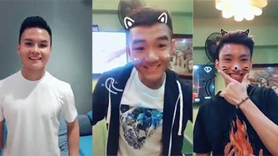 Đức Chinh, Văn Hậu và Quang Hải U23 lại đốn tim fan với loạt clip biến hình