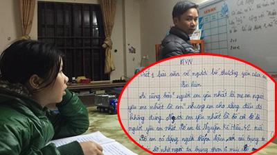 Bài văn tả bố của học sinh lớp 5 gây sốt: 'Bố em thua xa bố nhà người ta'
