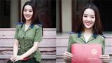 Chụp ảnh kỷ niệm ngày tốt nghiệp, Hoa khôi ĐH Phòng cháy nhận 'mưa' lời khen