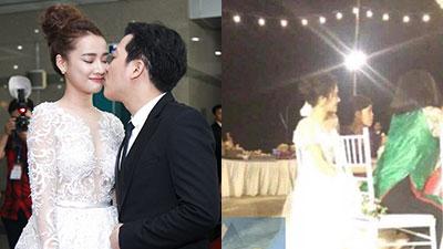 Hình ảnh hiếm hoi của cô dâu Nhã Phương trong lễ đính hôn tại Hội An tối nay (24/8)